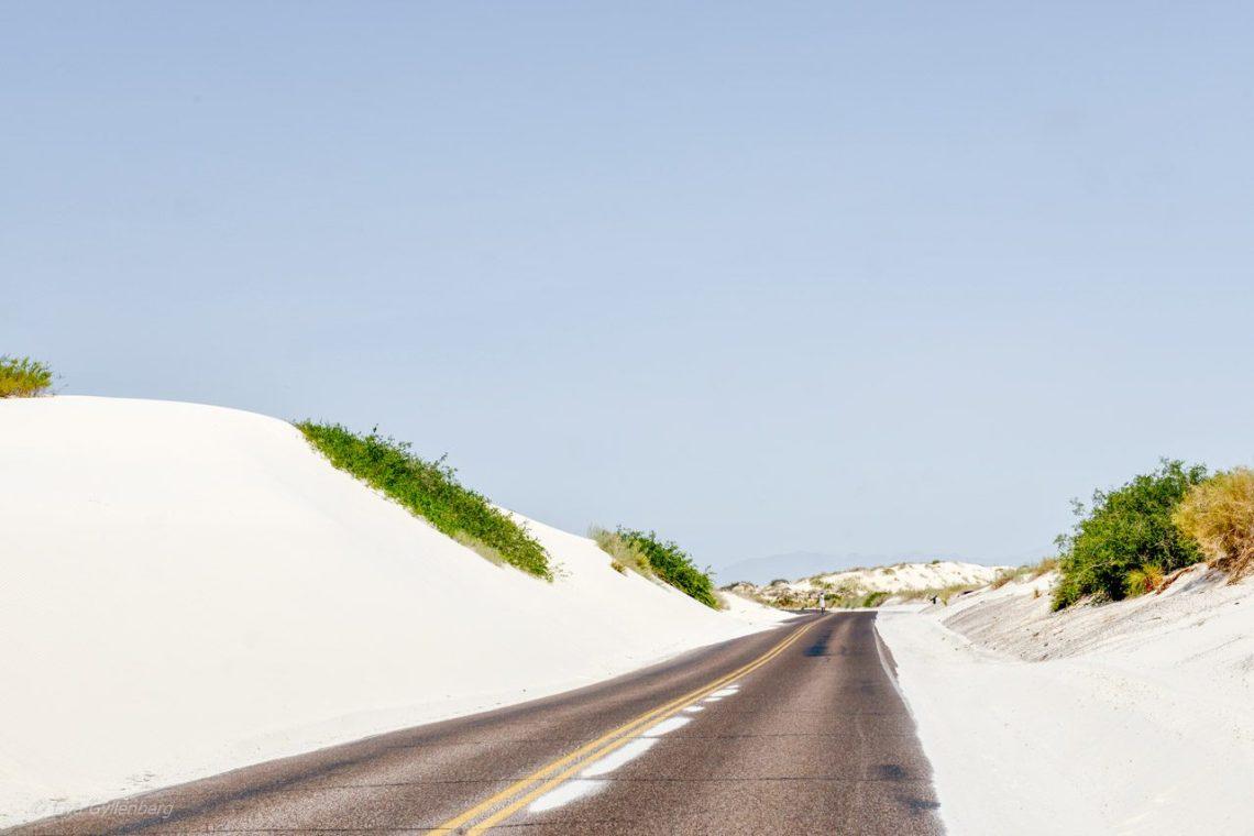 White Sands road