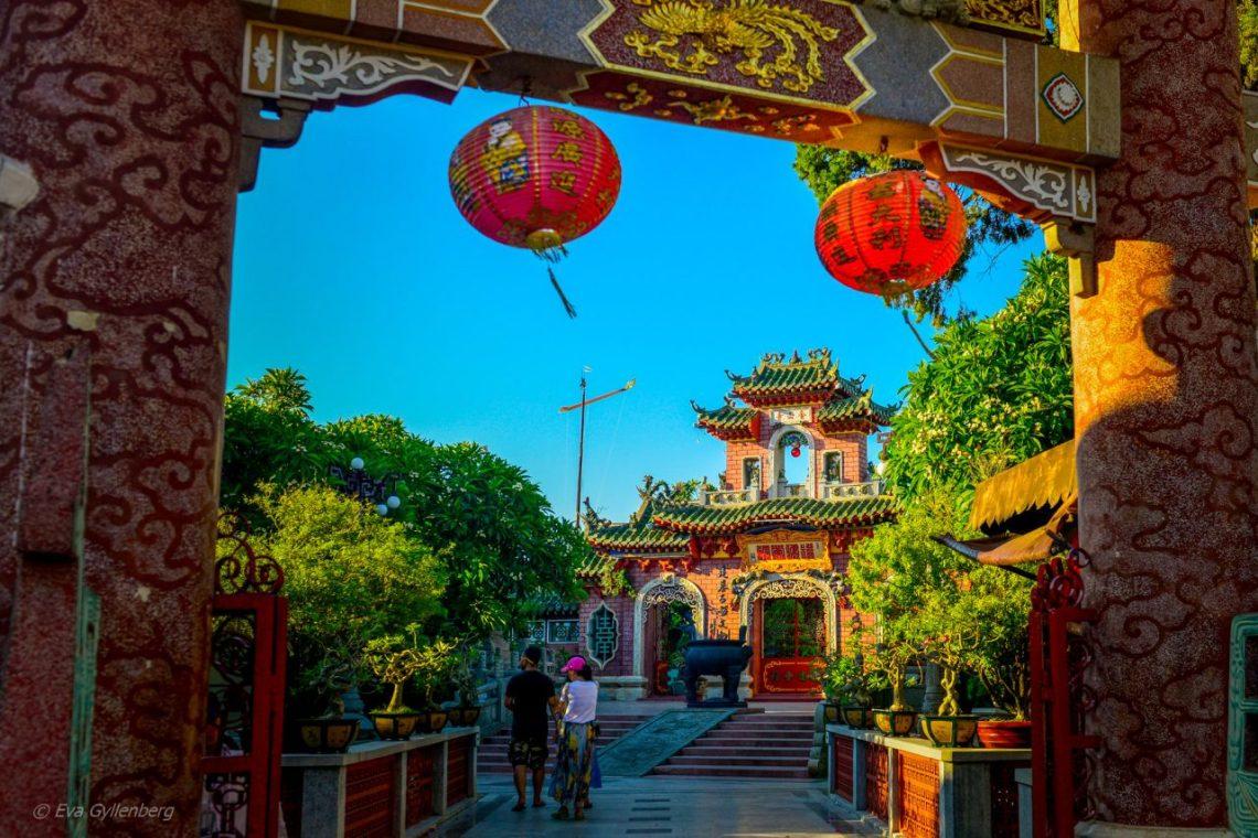 Hoi An TempelHoi An - Gamla Staden - Vietnam