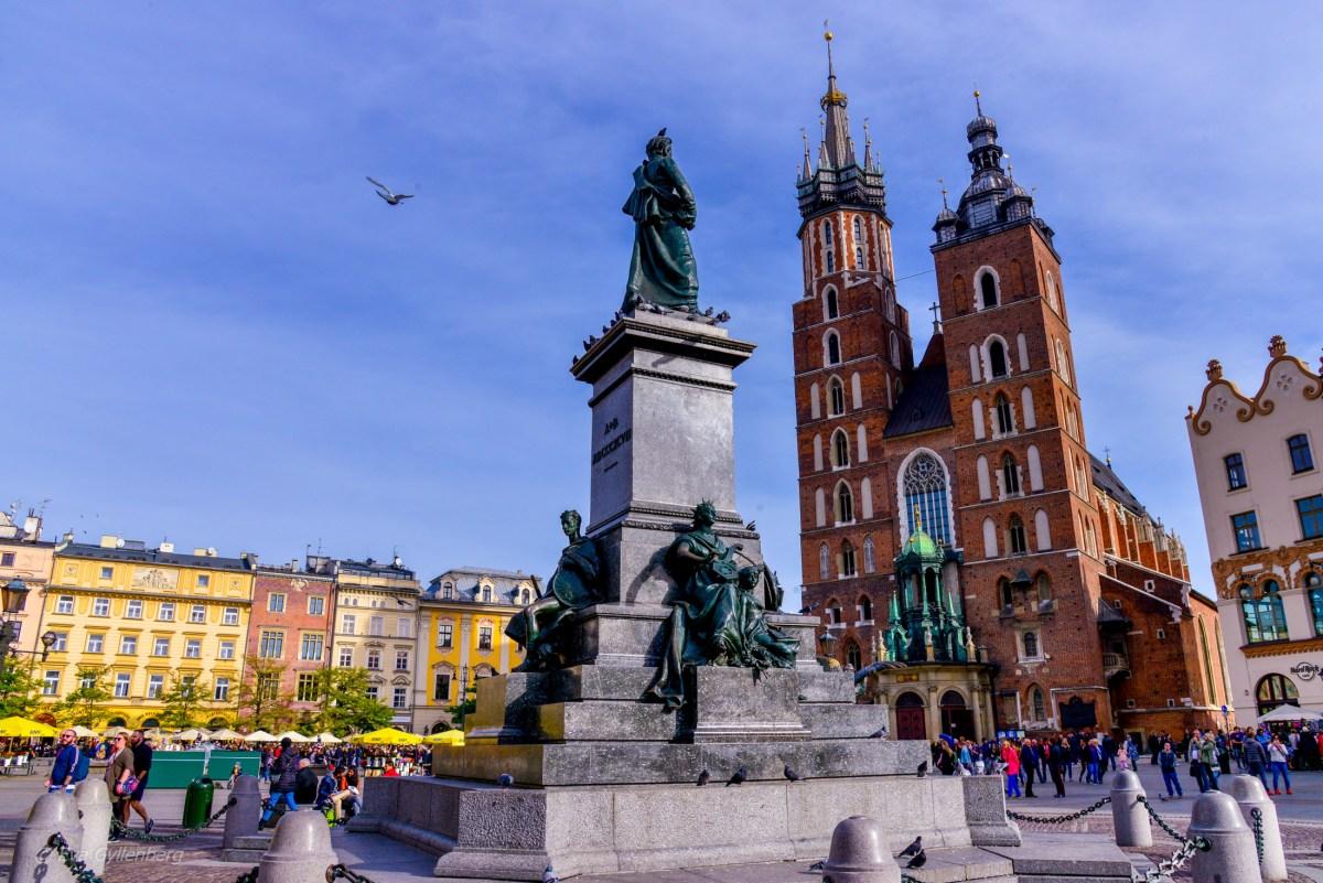 Krakow - Topp 10 sevärdheter
