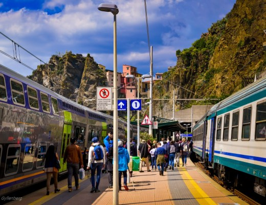 Cinque Terre tåg