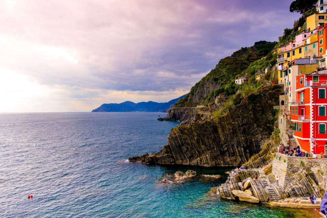 Havet vid Riomaggiore