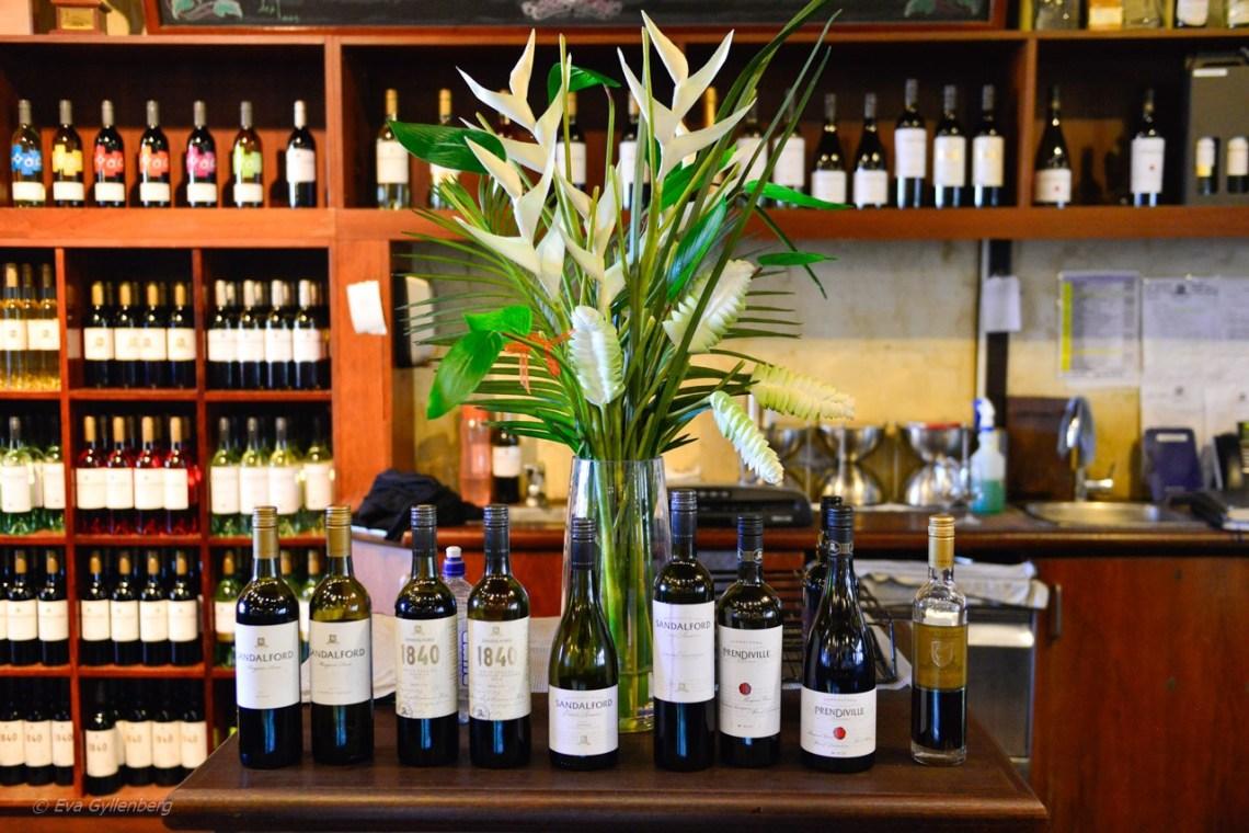 Swan Valley vinprovning - Perth - Australien