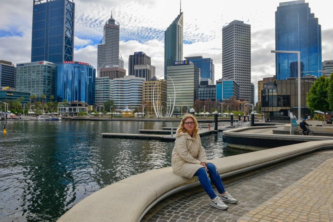 Eva i Perth, Australien