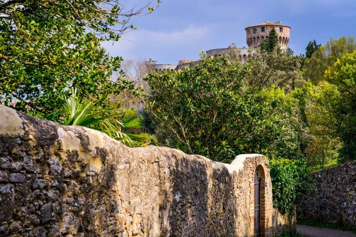 Fästningen i Volterra