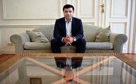 Selahattin Demirtas, the former co-leader of Turkey's pro-Kurdish People's Democratic Party, poses during an interview in Brussels on August 6, 2015. File photo: John Thys | AFP