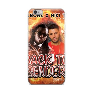 Back To Sender Remix iPhone case