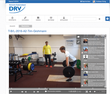 Social Video Learning mit edubreak®SPORTCAMPUS