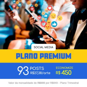 Plano Premium - Trimestral
