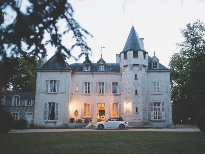 Wesele we Francji Aleksandra i Erwan Destination Wedding | Vierzon – Château de Fay