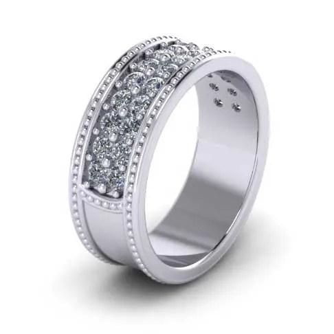 custom design ring - Men's Wedding Band