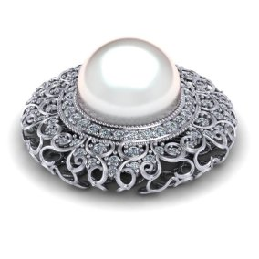 17.4 mm South Sea Pearl Pendant