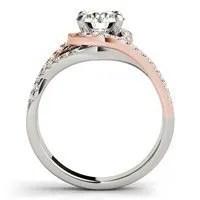 Multi Row Engagement Ring