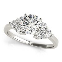 Cluster Side Engagement Ring