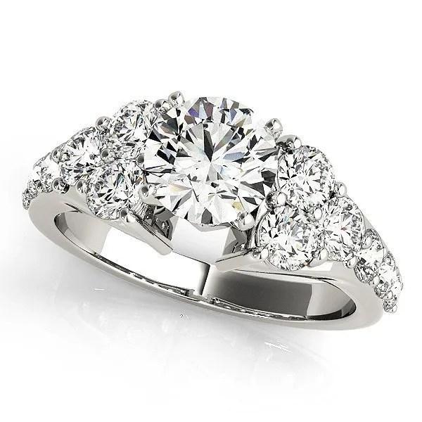 cluster side engagement ring