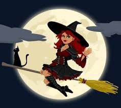 witch-on-broom
