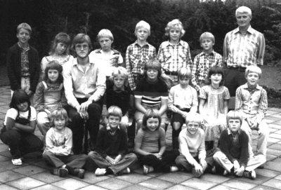 Schoolfoto Lagere School Pieterzijl