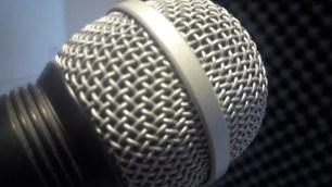 Microfoon, lamplicht