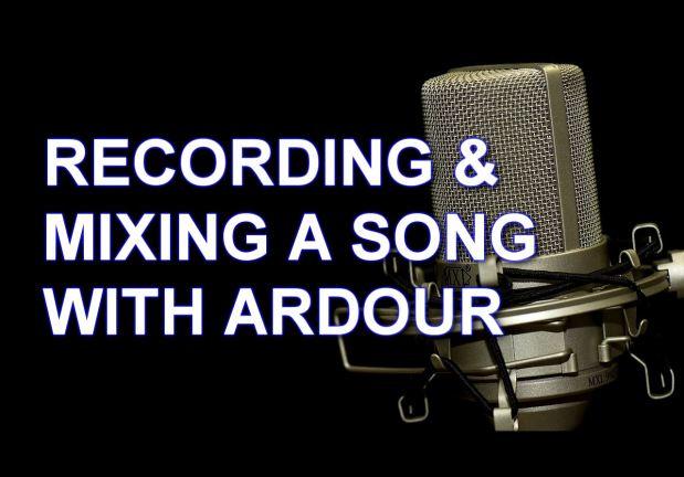 Rudy's Krabbels   recording mixing ardour thumbnail