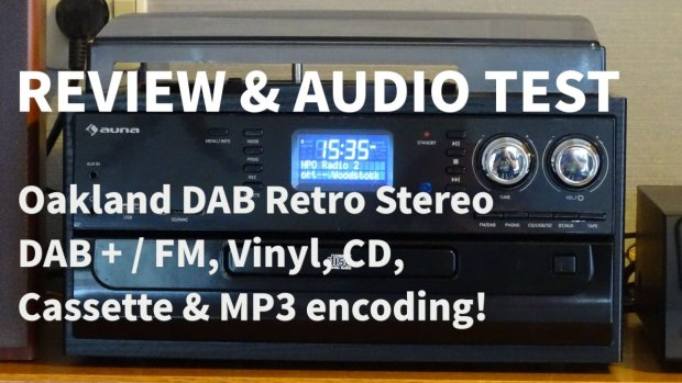 Audio test en review Auna DAB Radio Cassette Platenspeler