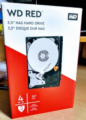 Western Digital RED NAS harde schijf 4TB