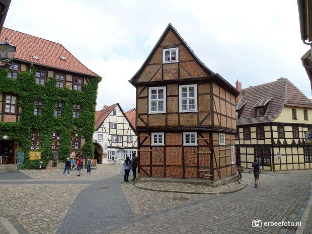 Altstadt Quedlinburg, De Harz, Duitsland