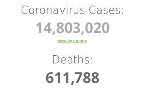 aantal sterfgevallen corona juli 2020