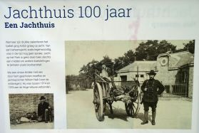 Informatiebord Jachthuis Anton Kroller (Hoge Veluwe)