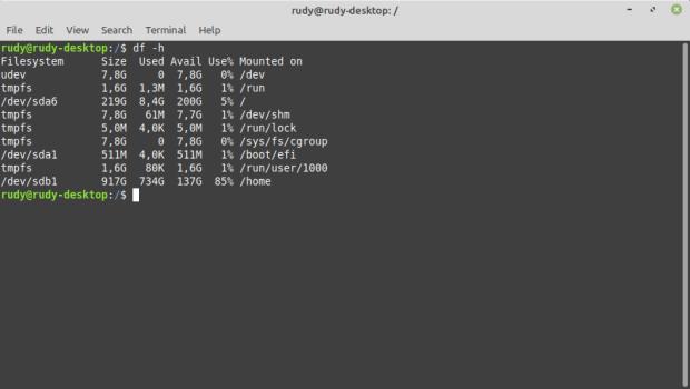 Schijven en partities Linux Mint