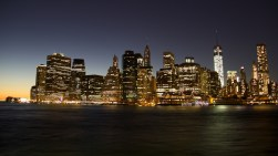 NYC from Brooklyn by Rudy Giron