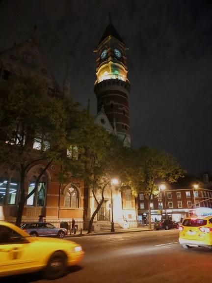 NYC night scene by Rudy Giron