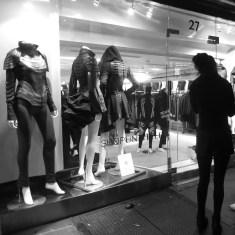 NYC window shopping by Rudy Giron