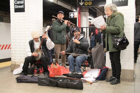 Sights from the NYC Subway. Image by Rudy Giron + http://photos.rudygiron.com