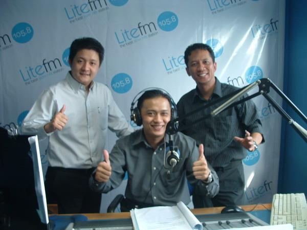 Talkshow di LiteFM 105,8 Jakarta