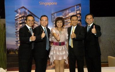 "Launching ""Treasure on Balmoral"" Singapore"