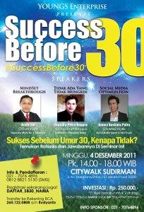 Seminar #SuccessBefore30