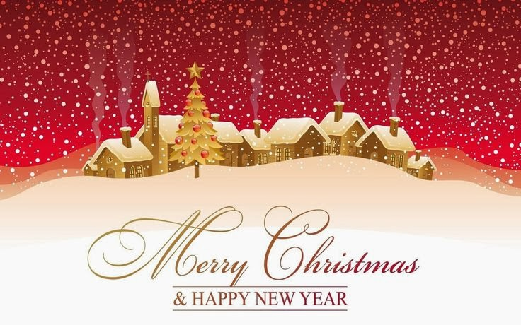 Merry Christmas 2014 & Happy New Year 2015