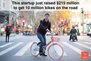 Mobike: Start-Up Sepeda Pertama di Dunia