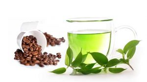 caffeine in green tea - Thumbnail