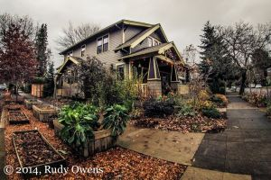Sellwood Home, Another Upscale Hood