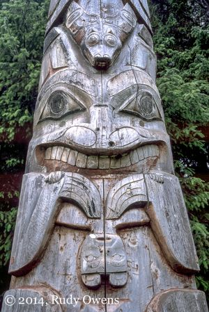 Tlingit Totem Pole, Sitka