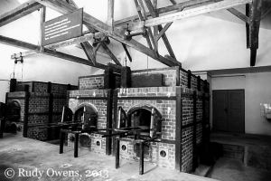 Dachau Camp Crematorium