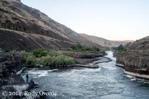 Historic Native Fishing Site, Sherars Falls