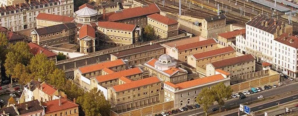 VUE AERIENNE PRISON PERRACHE - LYON