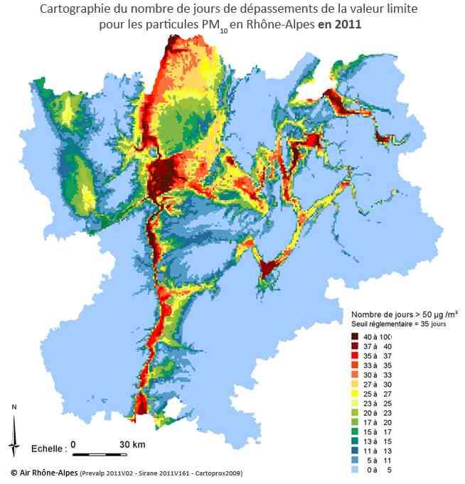 Carte-Rhone-Alpes-Particules-Fines