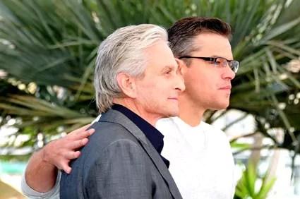 Matt Damon et Michael Douglas - 66ème Festival de Cannes