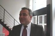 Denis Broliquier, le maire UDI du 2ème arrondissement de Lyon. ©LB/Rue89Lyon