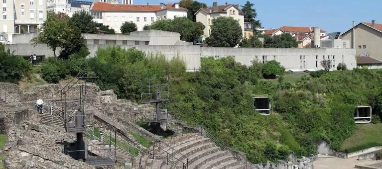 Le musée gallo-romain, un escargot enfoui aux flancs de Fourvière