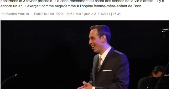 Mathieu Gardon : baryton… et sage-femme