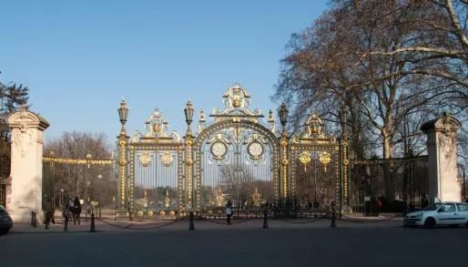 Portail principal du Parc de la Tête d'Or, Lyon 6e.