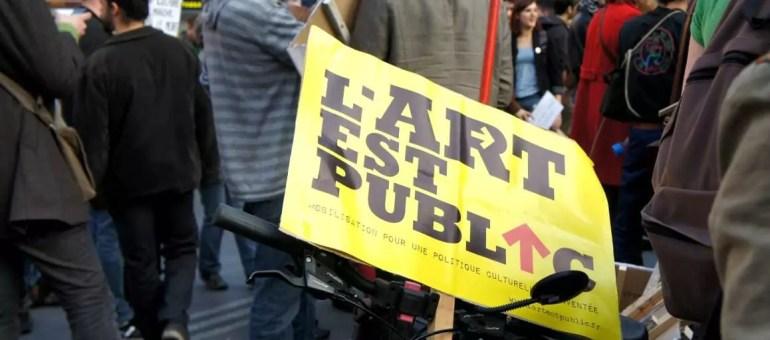 «On n'est pas des fainéants» : les acteurs de la culture ont manifesté aussi à Lyon